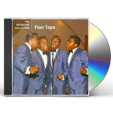 Four Tops DEFINITIVE COLLECTION CD