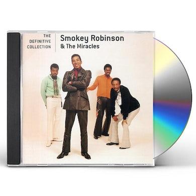 Smokey Robinson & Miracles DEFINITIVE COLLECTION CD