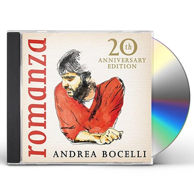 Andrea Bocelli ROMANZA: 20TH ANNIVERSARY EDITION CD