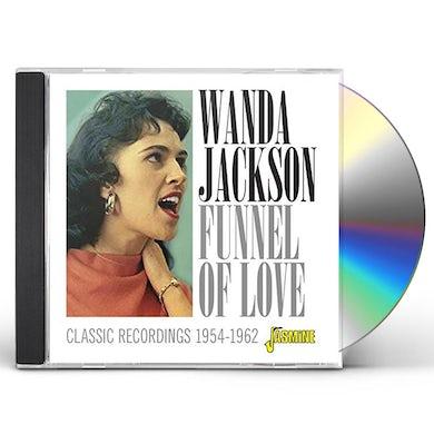 Wanda Jackson FUNNEL OF LOVE: CLASSIC RECORDINGS 1954-1962 CD