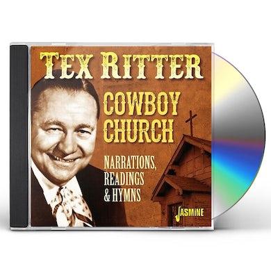 COWBOY CHURCH: NARRATIONS READINGS & HYMNS CD