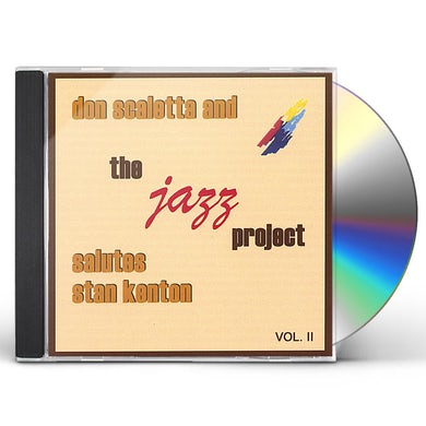 Don Scaletta THE JAZZ PROJECT SALUTES STA 2 CD
