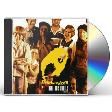 Machinedrum HALF THE BATTLE CD