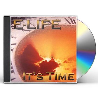 E-life IT'S TIME CD