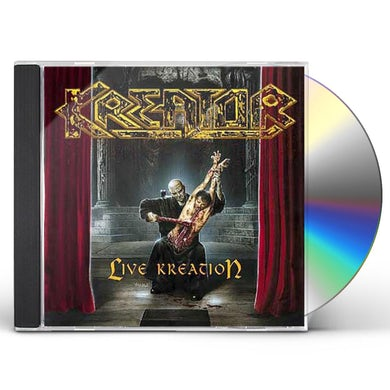 Kreator LIVE KREATION CD