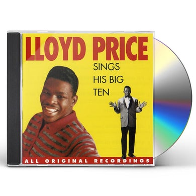 Lloyd Price SINGS HIS BIG TEN CD