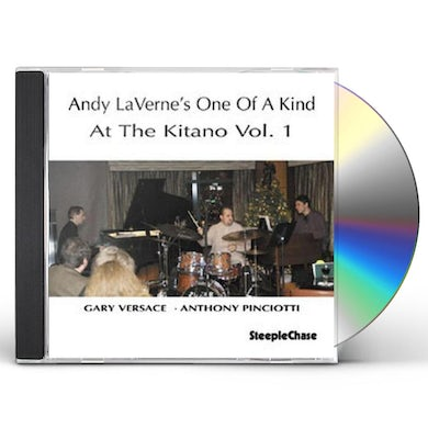 Andy LaVerne AT THE KITANO 1 CD