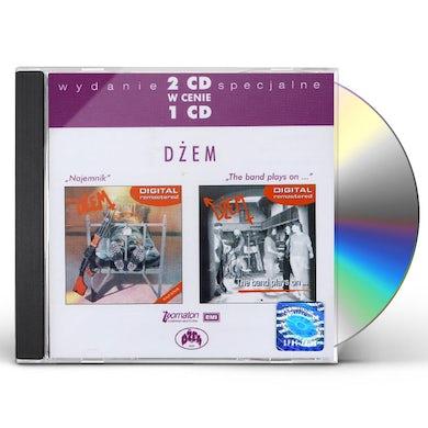 Dzem NAJEMNIK/BAND PLAYS ON CD