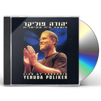 Yehuda Poliker LIVE AT CAESARIA CD