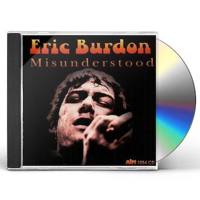 Eric Burdon / The Animals MISUNDERSTOOD CD