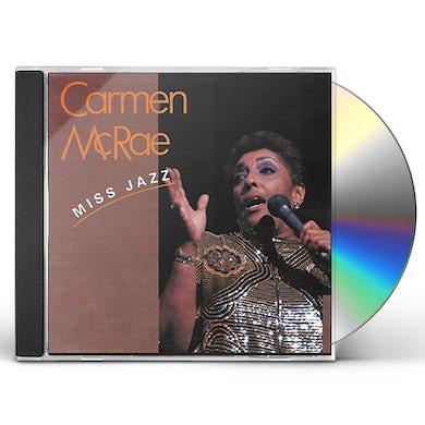 Carmen McRae MISS JAZZ CD