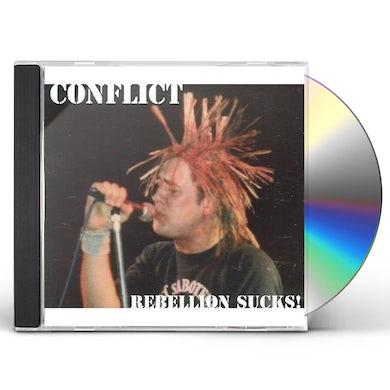 Conflict REBELLION SUCKS CD