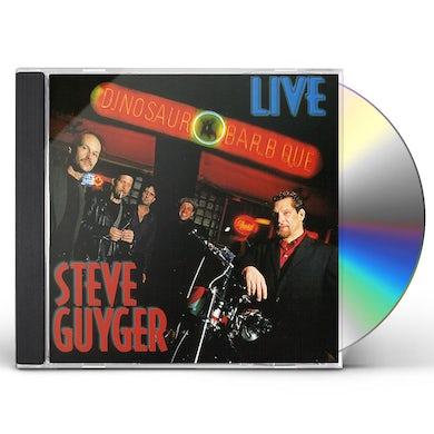 Steve Guyger LIVE AT THE DINOSAUR CD