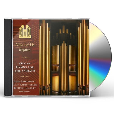 Mormon Tabernacle Choir NOW LET US REJOICE ORGAN HYMNS FOR THE SABBATH CD