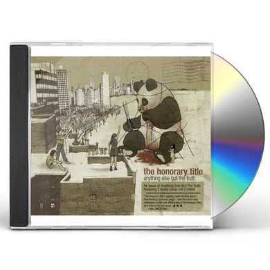 HONORARY TITLE ANYTHING ELSE BUT THE TRUTH CD