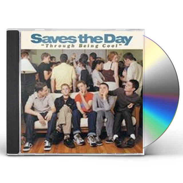 Saves The Day THROUGH BEING COOL CD