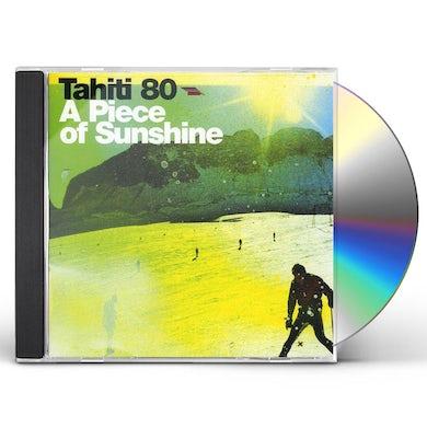 Tahiti 80 A PIECE OF SUNSHINE CD