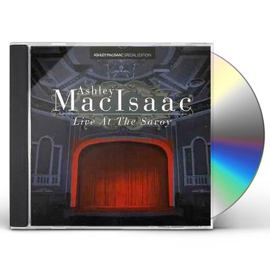 Ashley MacIsaac LIVE AT THE SAVOY CD