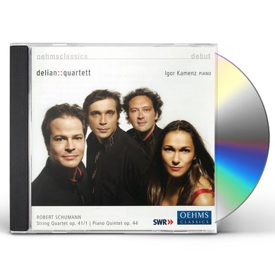 Schumann STRING QUARTET A MINOR OP. 41 CD