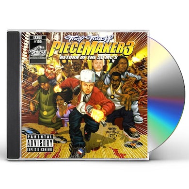 Tony Touch PIECE MAKER 3: RETURN OF THE 50 MCS CD