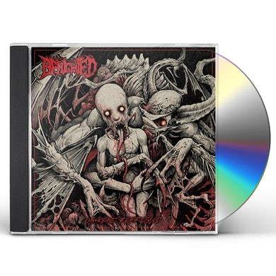 Benighted Obscene Repressed CD