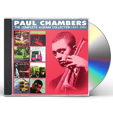 Paul Chambers COMPLETE ALBUMS COLLECTION: 1956-1960 CD