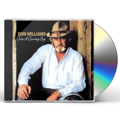 Don Williams JUST A COUNTRY BOY CD