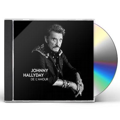 Johnny Hallyday DE L'AMOUR: DELIXE EDITION CD