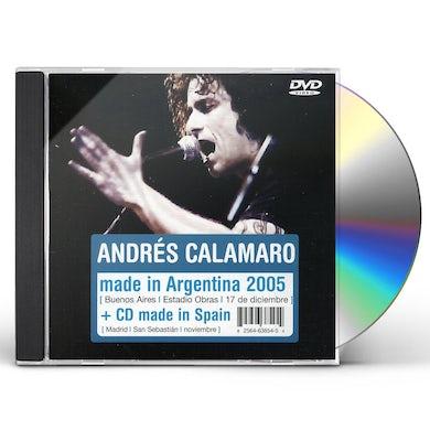 Andres Calamaro MADE IN ARGENTINA (CD+DVD) CD