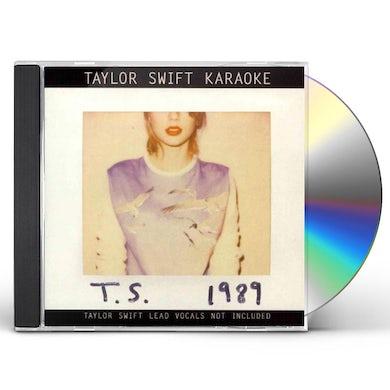 Taylor Swift Karaoke: 1989 (CD+G/DVD Combo) CD