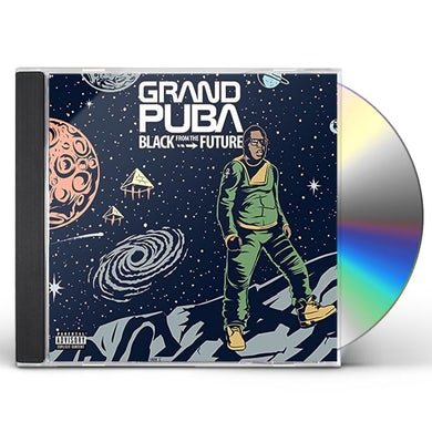 Grand Puba BLACK FROM THE FUTURE CD