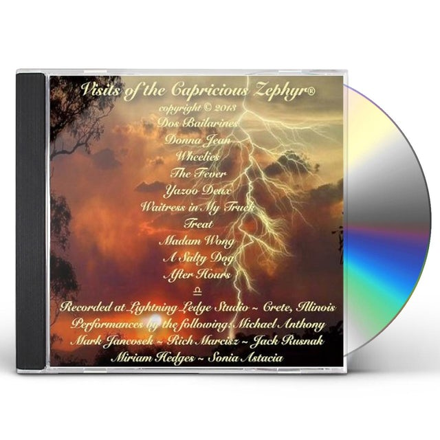 Michael Anthony VISITS OF THE CAPRICIOUS ZEPHYR CD