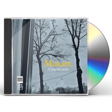 Wolfgang Amadeus Mozart CONCERT ARIAS CD
