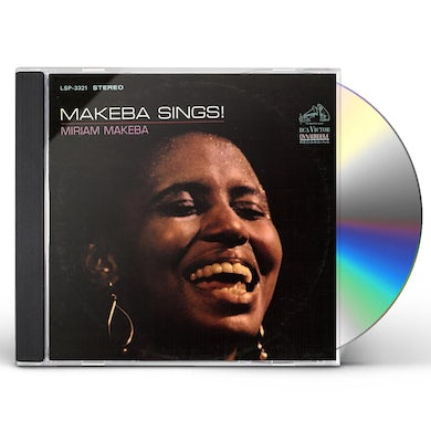 Miriam Makeba MAKEBA SINGS! CD