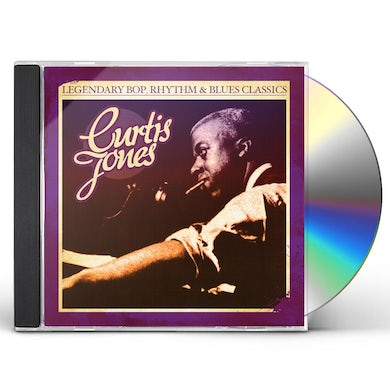 Curtis Jones LEGENDARY BOP RHYTHM & BLUES CLASSICS CD