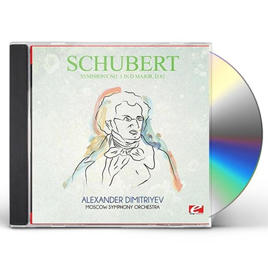 Schubert SYMPHONY NO. 1 IN D MAJOR D.82 CD