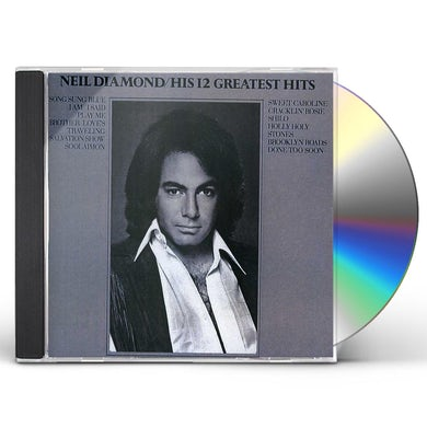 Neil Diamond 12 GREATEST HITS CD