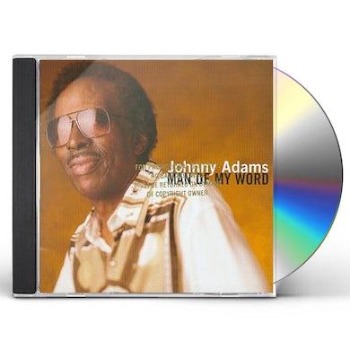 Johnny Adams MAN OF MY WORD CD