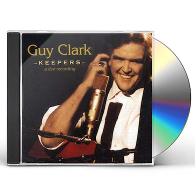 Guy Clark KEEPERS CD
