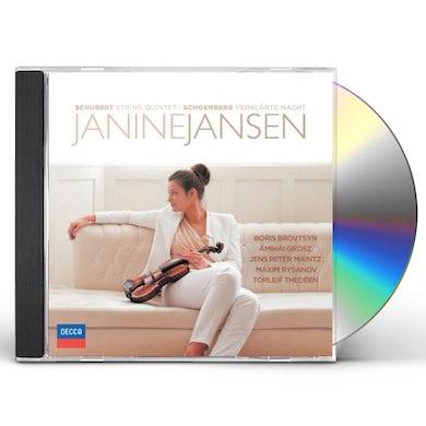 Janine Jansen SCHUBERT & SCHOENBERG CD