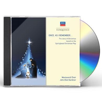 John Eliot Gardiner ONCE AS I REMEMBER CD