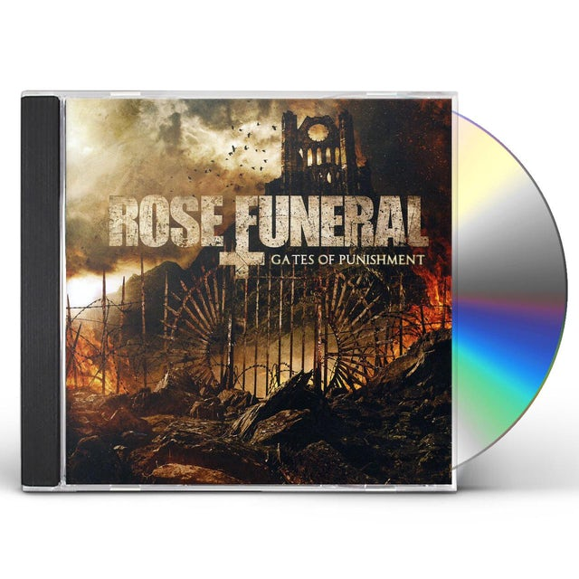 Rose Funeral GATES OF PUNISHMENT CD