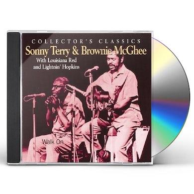 Sonny Terry / Brownie McGhee  WALK ON CD