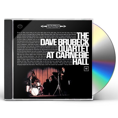 Dave Brubeck AT CARNEGIE HALL CD