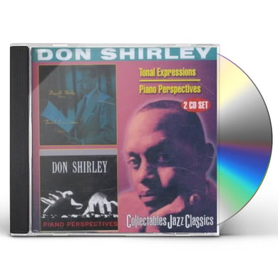 Don Shirley TONAL EXPRESSIONS / PIANO PERSPECTIVES CD