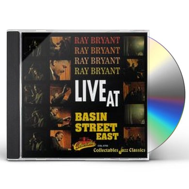Ray Bryant LIVE AT BASIN STREET EAST CD
