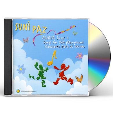 Suni Paz ALERTA SINGS SONGS FOR PLAYGROUND / CANCIONES PARA CD