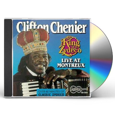 THE KING OF ZYDECO LIVE AT MONTREUX CD