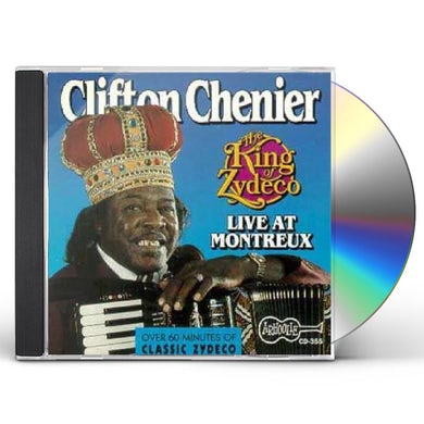 Clifton Chenier THE KING OF ZYDECO LIVE AT MONTREUX CD