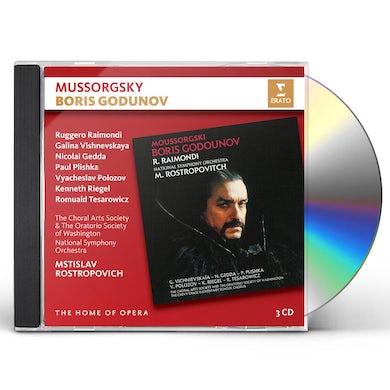 Mstislav Rostropovich MUSSORGSKY: BORIS GODUNOV CD
